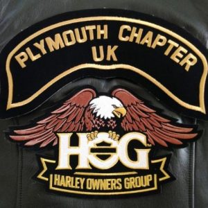 Plymouth HOG Embroidered Patch
